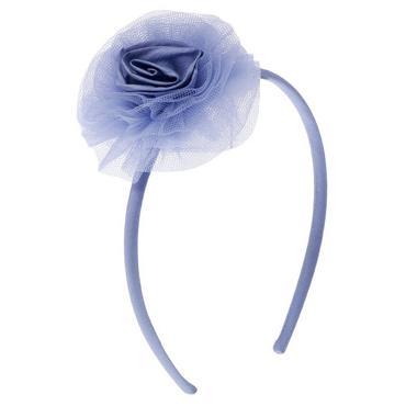 Lilac Silk Tulle Rosette Headband at JanieandJack