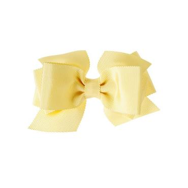 Spring Yellow Bow Barrette at JanieandJack