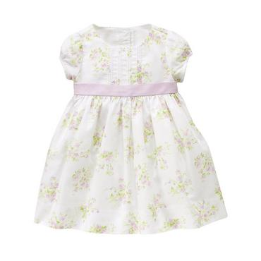 Spring Floral Floral Dobby Dress at JanieandJack