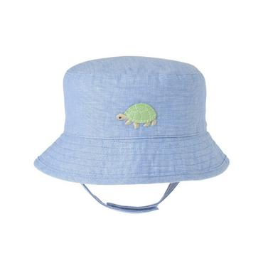 Turtle Blue Turtle Bucket Hat at JanieandJack