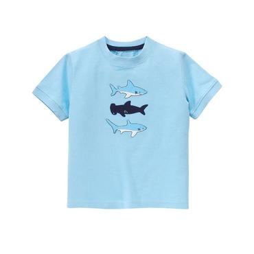 Shark Blue Shark Tee at JanieandJack