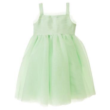 Mint Green Ribbon Tulle Dress at JanieandJack