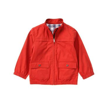 Summer Red Canvas Jacket at JanieandJack