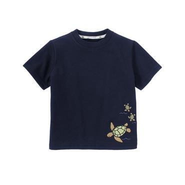 Dark Navy Turtle Tee at JanieandJack