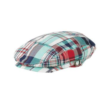 Boys Twilight Blue Patchwork Patchwork Cap at JanieandJack