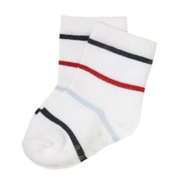 Buoy Red Stripe Stripe Sock at JanieandJack