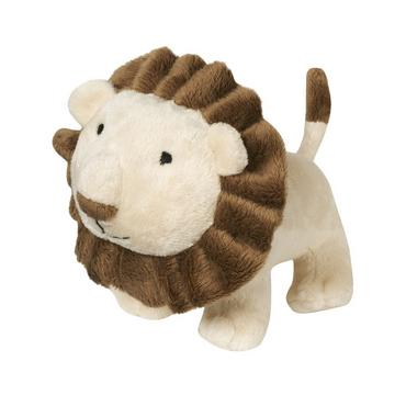 Lion Brown Lion Plush Rattle Toy at JanieandJack