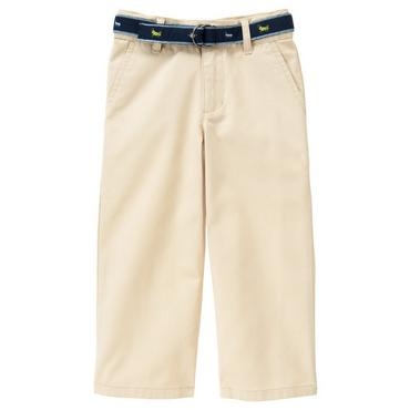Classic Khaki Belted Khaki Pant at JanieandJack