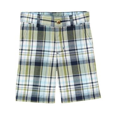 Daytime Navy Plaid Plaid Short at JanieandJack