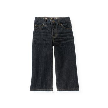 Dark Indigo Wash Dark Denim Jean at JanieandJack