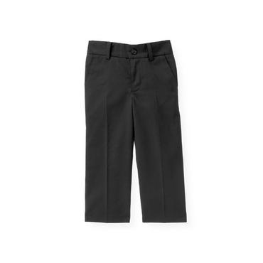 Dark Navy Wool Suit Trouser at JanieandJack