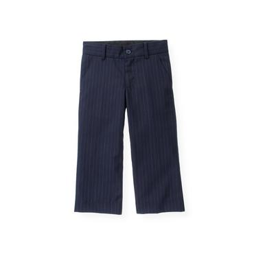 Classic Navy Pinstripe Pinstripe Suit Trouser at JanieandJack