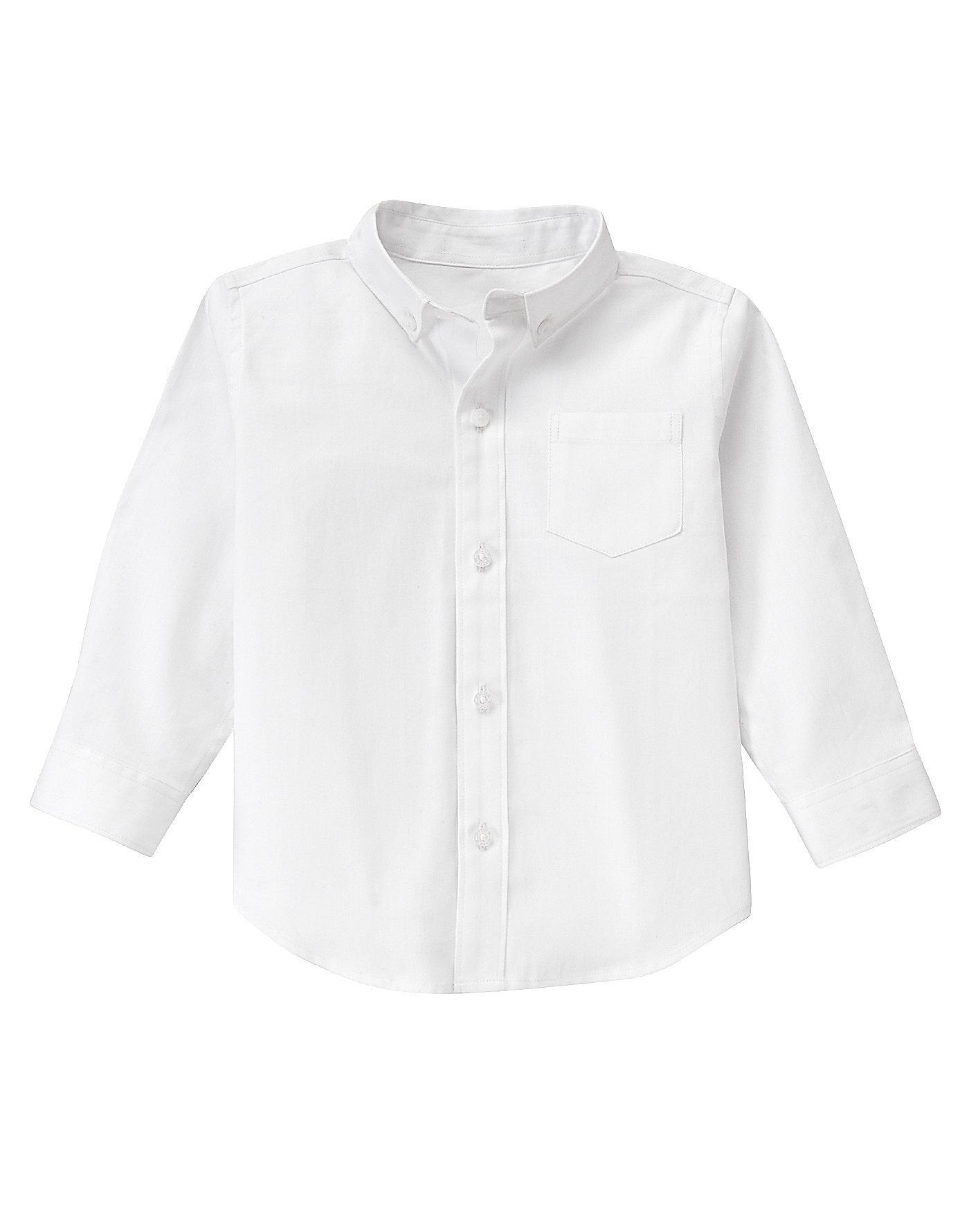 Pure white herringbone dress shirt at janieandjack for White herringbone dress shirt