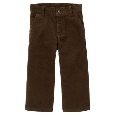Dark Brown Corduroy Pant at JanieandJack