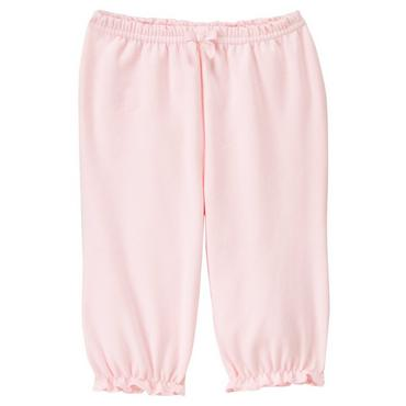 Baby Girl Blossom Pink Ruffle Hem Pant at JanieandJack