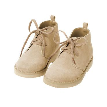 Classic Khaki Leather Desert Boot at JanieandJack