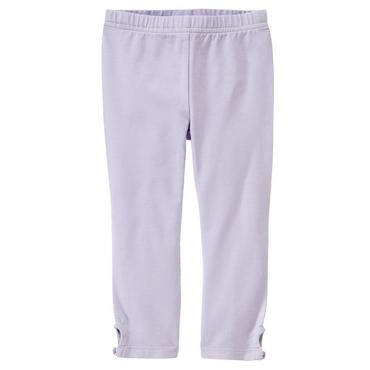 Lavender Button Cuff Legging at JanieandJack