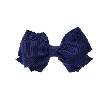 Deep Violet Bow Barrette at JanieandJack