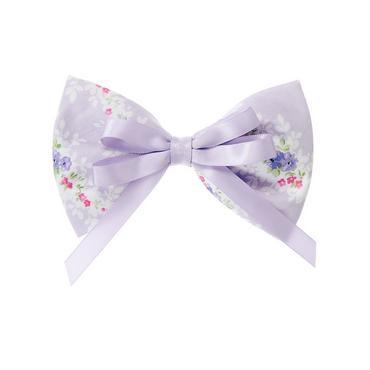 Lavender Blossom Ribbon Floral Bow Barrette at JanieandJack