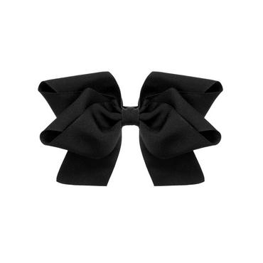 Black Black Bow Barrette at JanieandJack