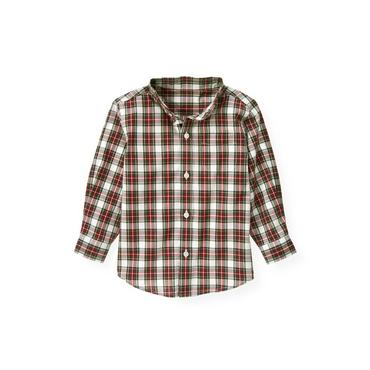 Pine Green Plaid Plaid Shirt at JanieandJack