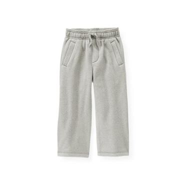 Heather Grey Microfleece Pant at JanieandJack