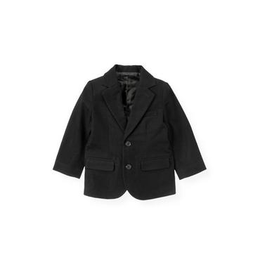 Black Moleskin Suit Blazer at JanieandJack