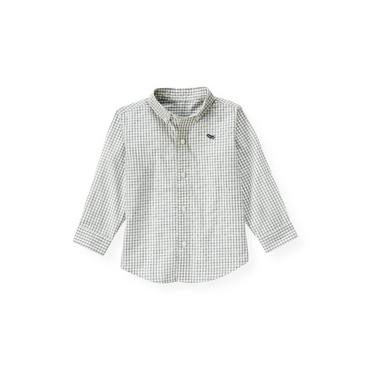 Propeller Blue Check Checked Shirt at JanieandJack