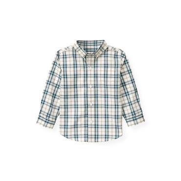 Globe Blue Check Plaid Shirt at JanieandJack
