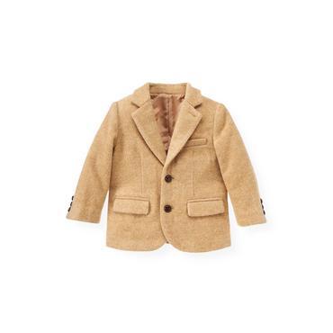 Camel Camel Suit Blazer at JanieandJack