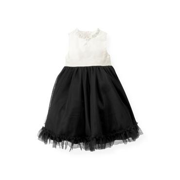 Black Tulle Ruffle Dress at JanieandJack