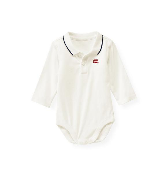 Doubledecker Bus Polo Bodysuit