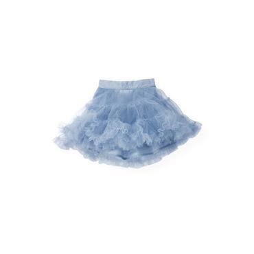 Winter Blue Tiered Tulle Skirt at JanieandJack