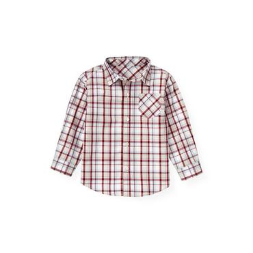 Lake Blue Plaid Plaid Shirt at JanieandJack