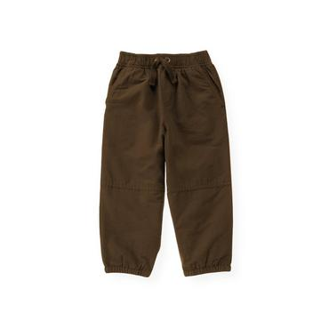 Moose Brown Lined Active Pant at JanieandJack