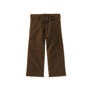 Moose Brown Moleskin Trouser at JanieandJack