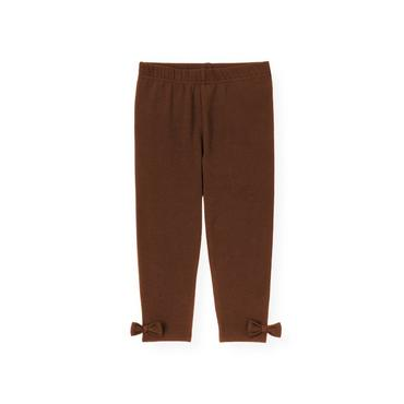 Reindeer Brown Bow Legging at JanieandJack