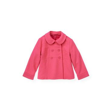 Bright Pink Felted Jacket at JanieandJack