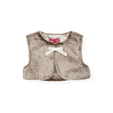 Winter Stone Faux Fur Vest at JanieandJack