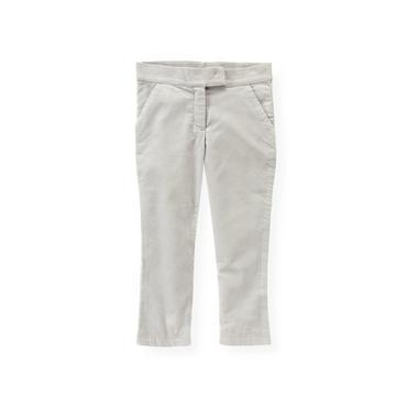 Luxe Grey Uncut Corduroy Pant at JanieandJack