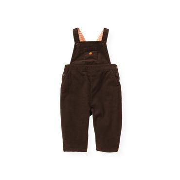Harvest Brown Pumpkin Corduroy Overall at JanieandJack