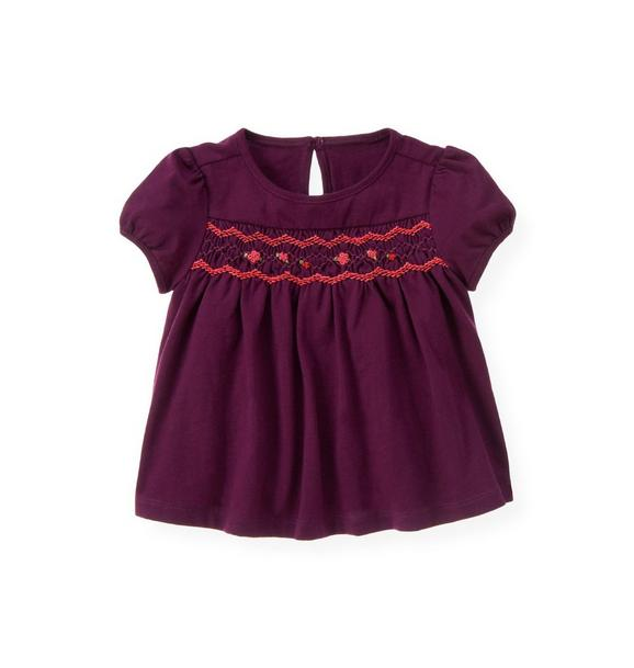 Hand-Smocked Top