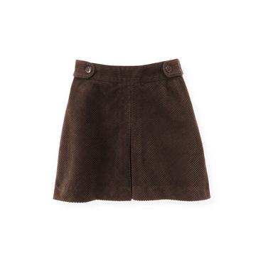 Harvest Brown Corduroy Skirt at JanieandJack