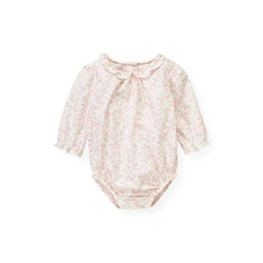 Baby Girl Ice Pink Floral Floral Bodysuit at JanieandJack