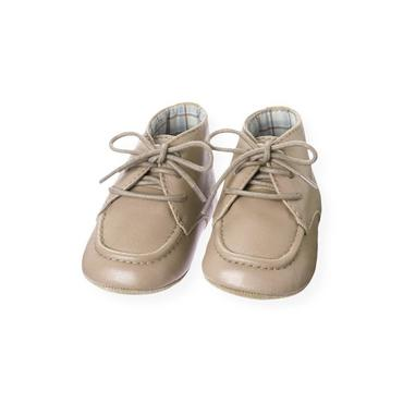 Baby Boy Polar Brown Leather Crib Boot at JanieandJack