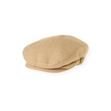 Boys Camel Camel Wool Cap at JanieandJack