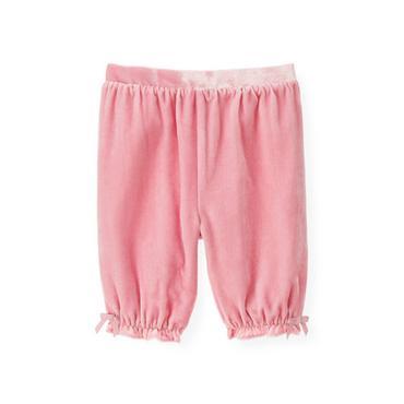 Baby Girl True Pink Velvet Knicker at JanieandJack