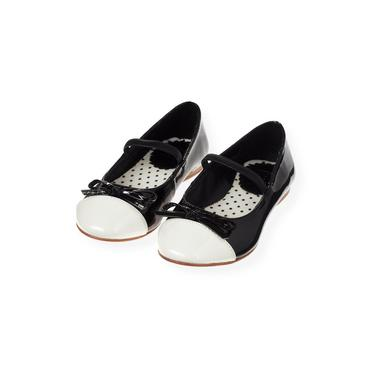 Black Patent Leather Ballet Flat at JanieandJack