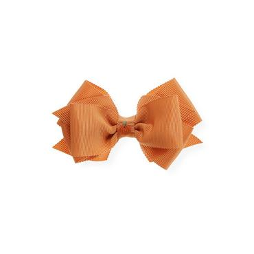 Pumpkin Orange Pumpkin Bow Barrette at JanieandJack