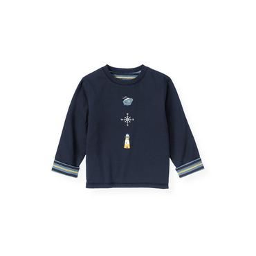 Marine Navy Nautical Reversible Tee at JanieandJack